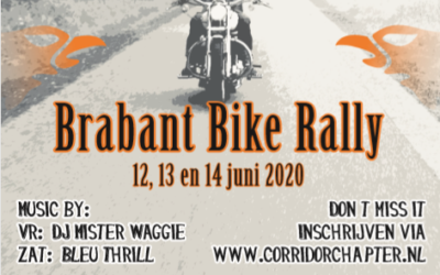 Inschrijving Brabant Bike Rally 2020 geopend!