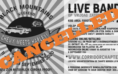 Black Mountains Rally CANCELLED