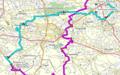 Route Ride Out 4 juli