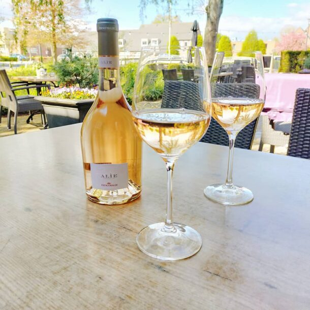 Wijn-spijs proeverij